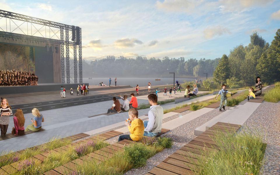 Нареконструкцию парка Кашкадан выделили 105 млн руб. бюджетных средств