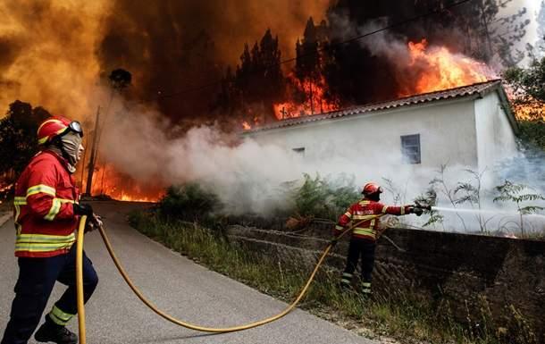 Число погибших лесных пожаров вПортугалии возросло до41