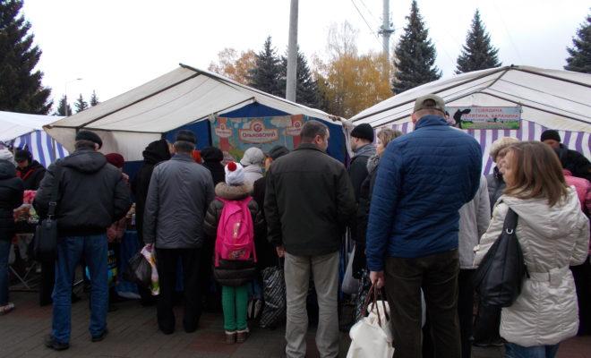 На сельхозярмарку в Обнинск приехали 140 калужских производителей