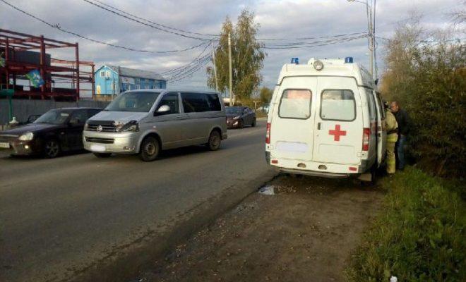 На окраине Калуги сбили ребенка
