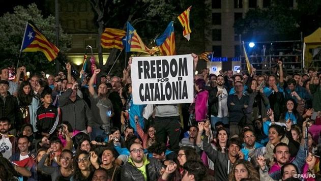 ВКаталонии запланировали национальную всеобщую забастовку