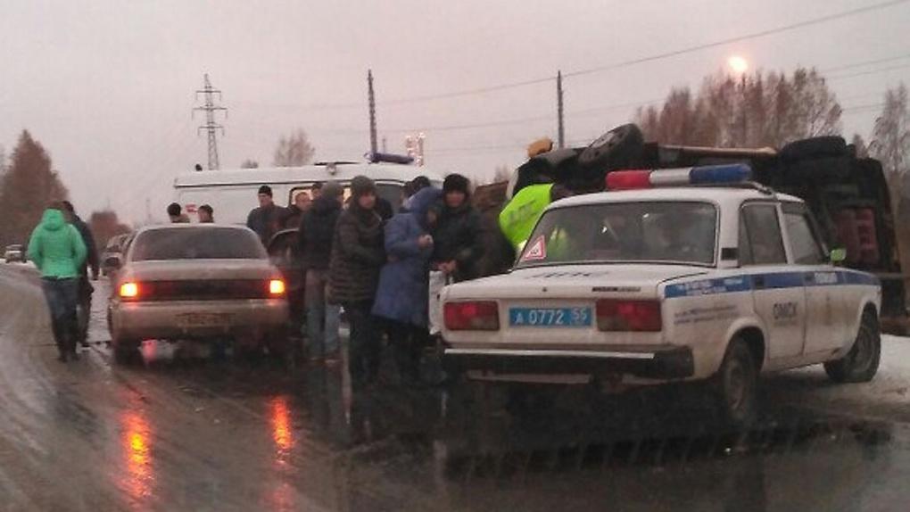 Один человек умер вДТП сомской маршруткой