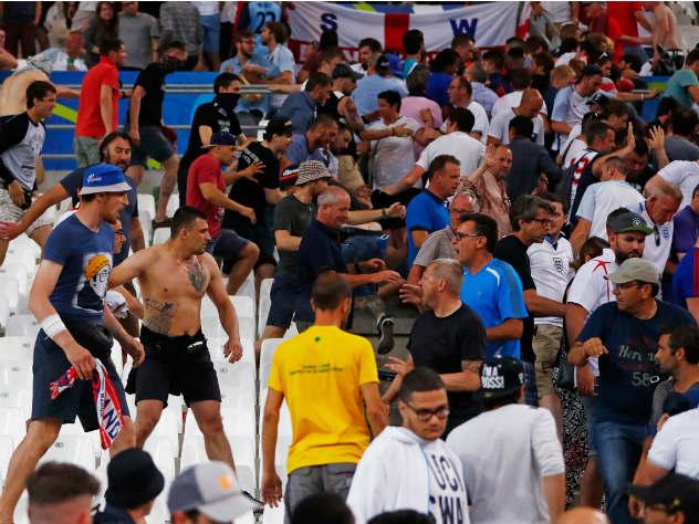 Русские болельщики известны экстремальным уровнем жестокости— уполномоченный МВД Англии