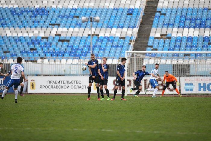 Гол Низамутдинова принес «Шиннику» победу над «Балтикой» и 4-ое место втаблице