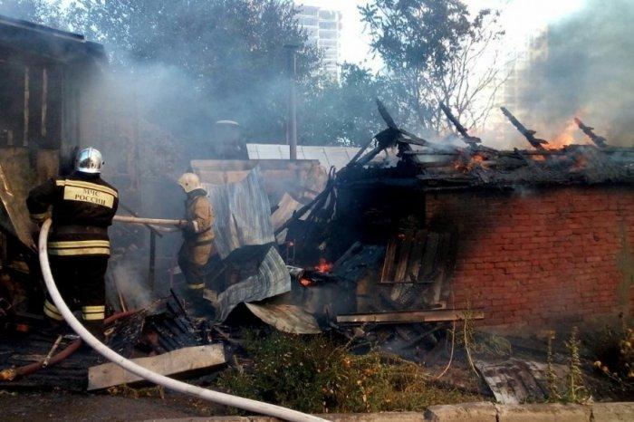 Губернатор Голубев сказал, что построят наместе пожара 21августа вРостове