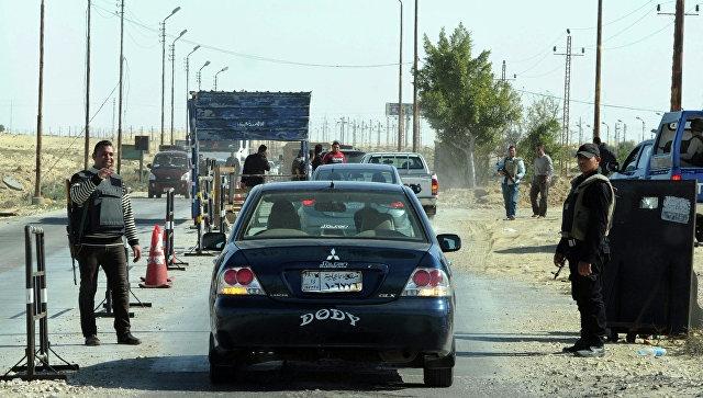Израильские военные сказали, что югстраны обстреляли состороны Египта