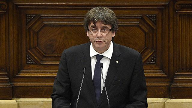 Каталония несдается, Пучдемон против короля