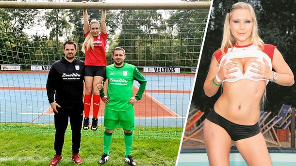 Порно-звезда стала титульным спонсором клуба четвертого германского дивизиона