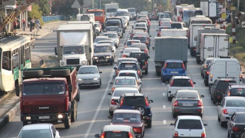 На трассах Нижнего самые длиннющие пробки занеделю были наМосковском шоссе