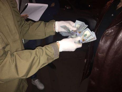 Полковник ВСУ арестован вовремя получения взятки в3 тыс. долларов