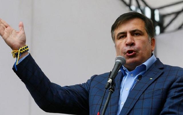 Саакашвили объявил, что протестующие будут требовать отставки власти— Митинг под Радой