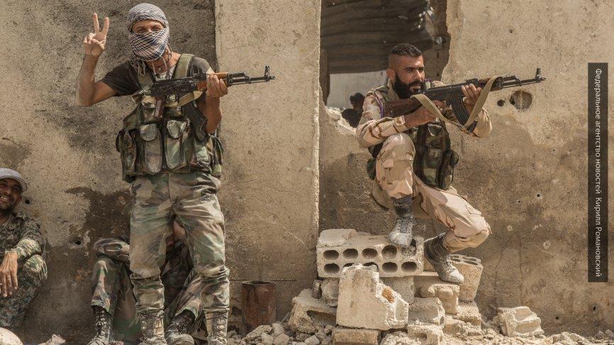 Сирийские войска вошли вглавный оплот ИГИЛ Меядин