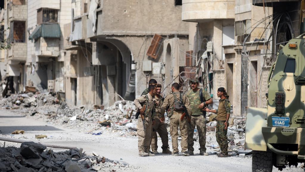 Замесяц вСирии погибли около тысячи гражданских