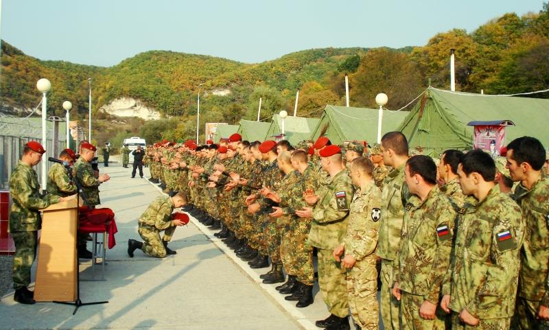 Спецназовец изСтаврополья получил право носить краповый берет