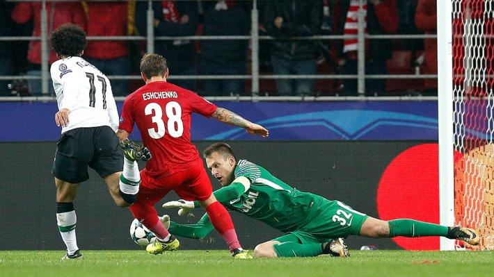 УЕФА оштрафовал «Спартак» порезультатам матча Лиги чемпионов с«Ливерпулем»