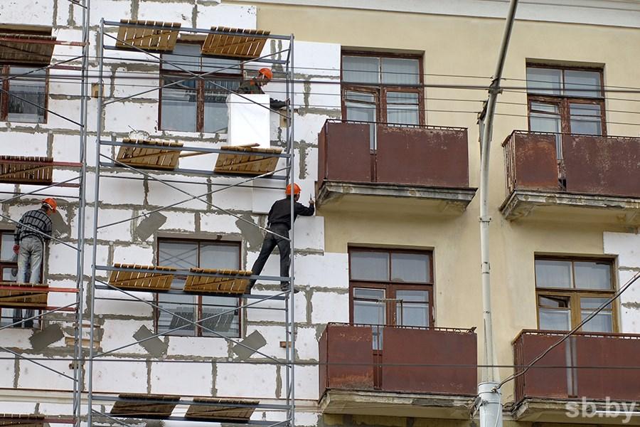 Утеплять дома вРеспублике Беларусь будут спомощью жильцов