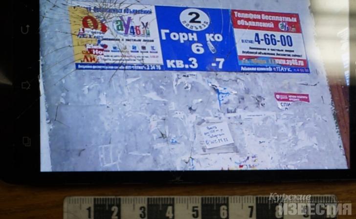ВКурской области схвачен распространитель рекламы наркотиков
