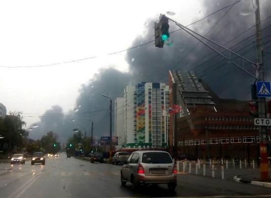 ВМЧС прокомментировали пожар на«Лукойле» вНижегородской области
