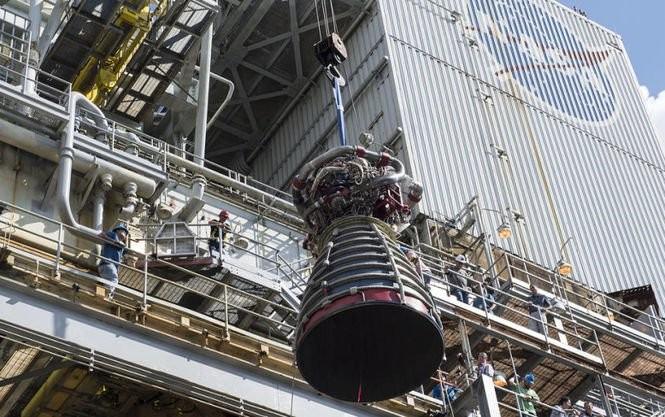 ВNASA показали тестирования мотора для ракет дальнего космоса