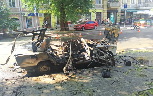 ВОдессе задержали виновников взрыва авто