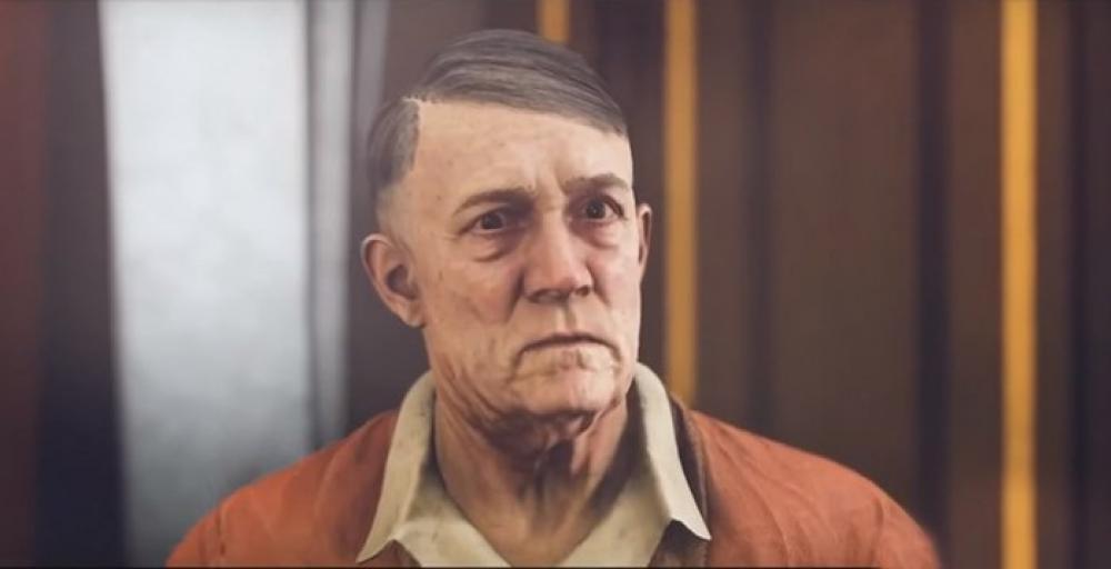 В германской версии игры Wolfenstein Гитлеру удалили усы