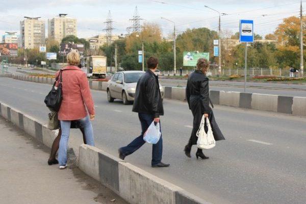 Пешеходы региона 3000 раз нарушили ПДД