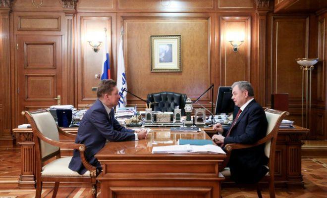 Анатолий Артамонов предложил использовать высокотехнологичную продукцию калужских предприятий для нужд «Газпрома»