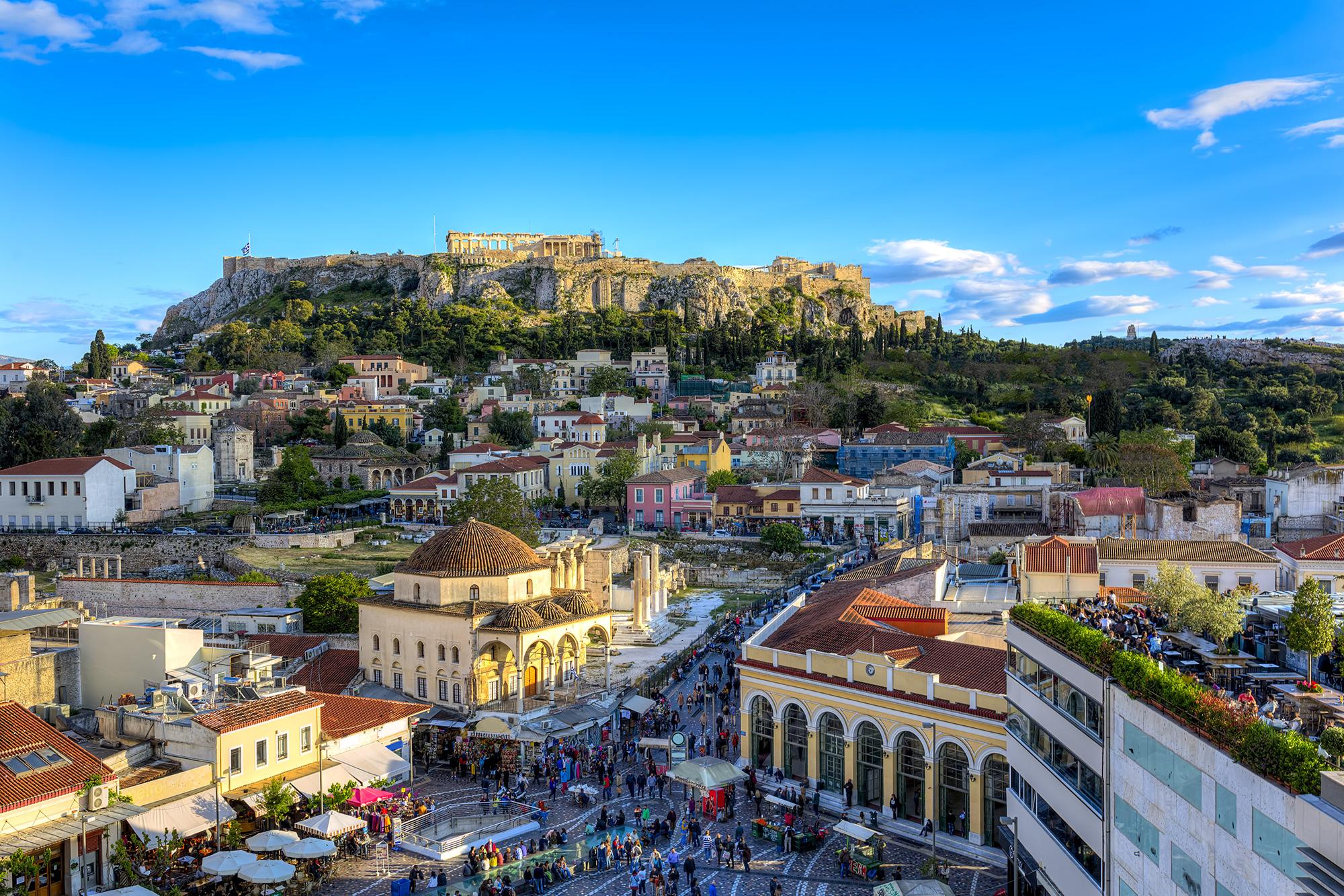 Афины заявили орекордном турпотоке