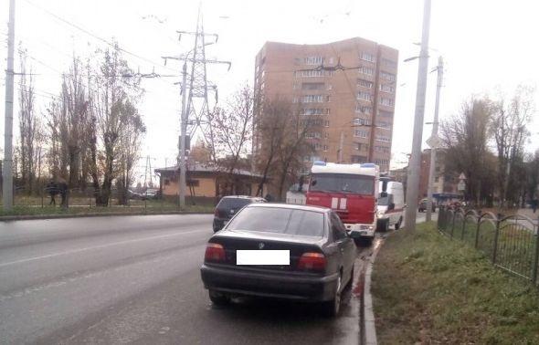 «БМВ» столкнулся с «Мерседесом» в Калуге