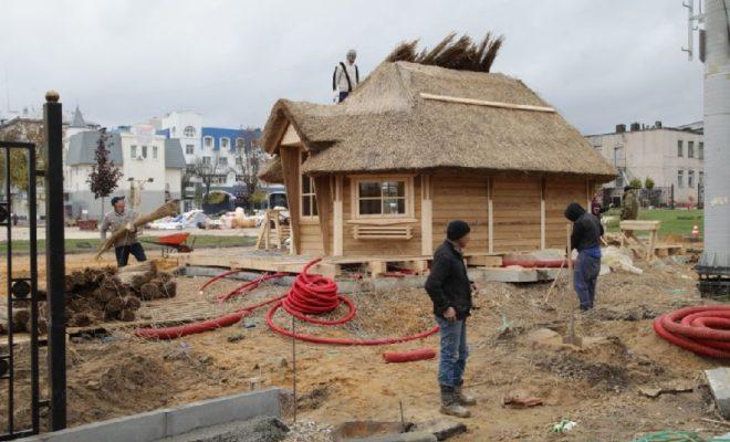 К первому снегу завершат работы в новом парке Калуги