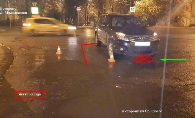 В Калуге под колеса машины попал 6-летний малыш