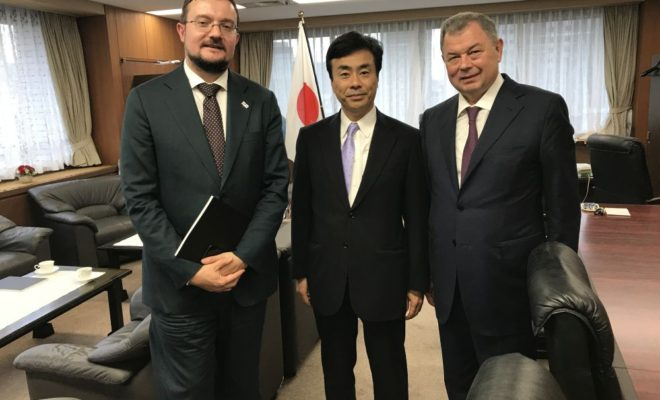 Делегация Калужской области продолжает рабочий визит в Японию