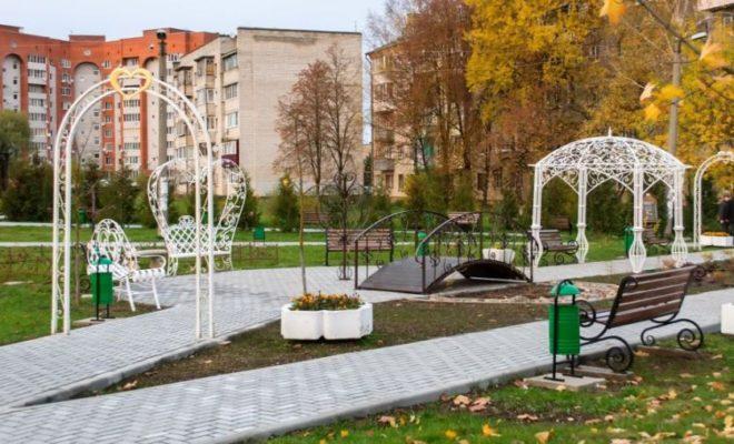 В Жуковском районе продолжаются работы по реализации федерального проекта «Формирование комфортной городской среды»