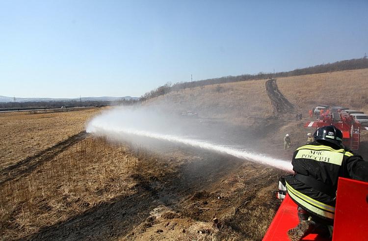 Шесть пожаров потушено, 13 локализовано засутки втайге Дальнего Востока