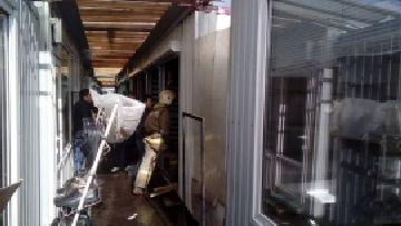 В Балабанове сгорела торговая палатка