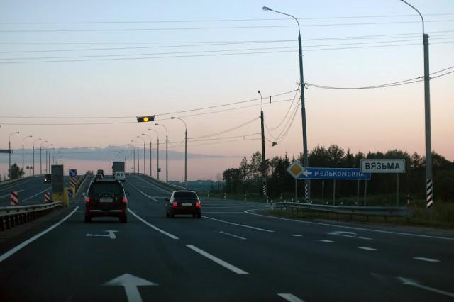 ВСмоленской области починят неменее 35км дороги М-1