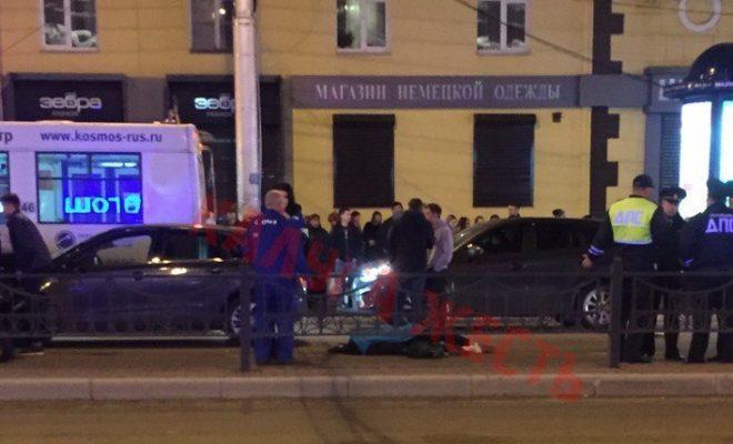 На улице Кирова насмерть сбили молодого парня