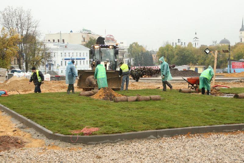 Поздней осенью в Калуге откроют новый парк