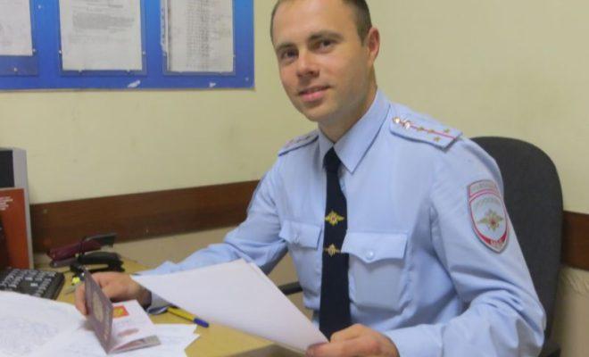 Капитан обнинской полиции поборется за звание «Народный участковый — 2017»