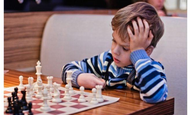 Дети со всей области играют в шахматы в ИКЦ