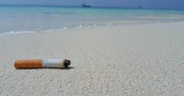 Напляжах Таиланда с1 ноября запретят курить