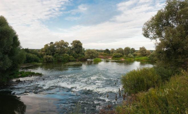 Стоки из Кабицино загрязняют речку и пруд