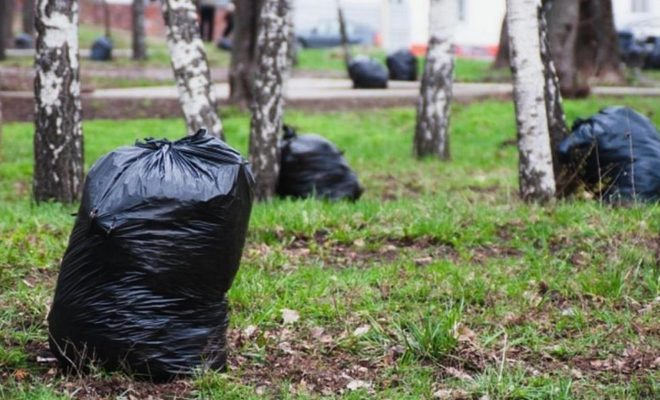 За полтора месяца жители Обнинска собрали 650 кубометров мусора