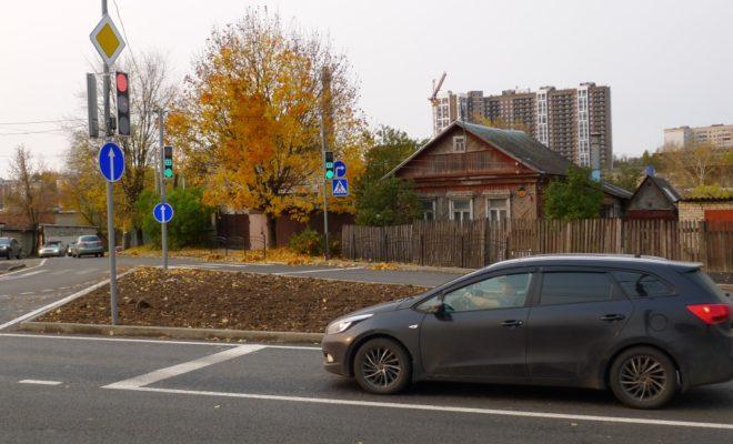 На опасном перекрестке Калуги появился светофор