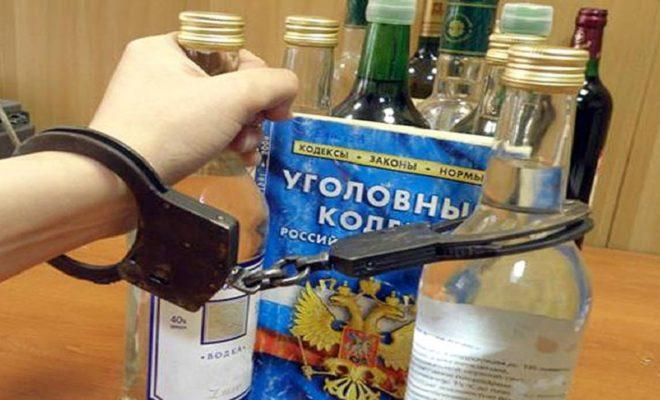 За украденную бутылку спиртного парень может сесть на четыре года
