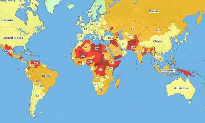 Названы самые опасные для туристов страны