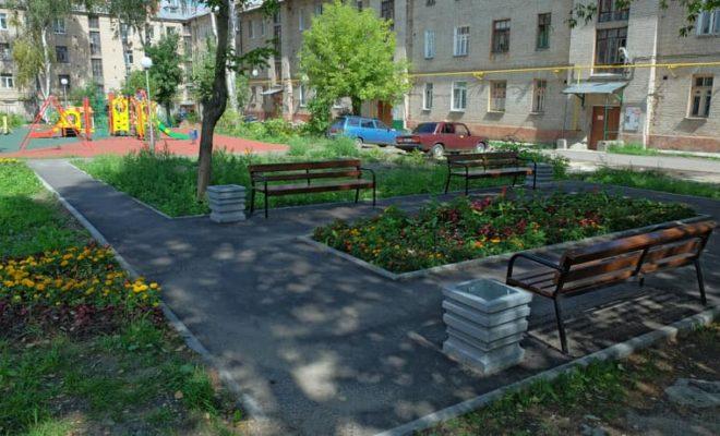 100 дворов благоустроили в Калуге по программе «Городская среда»