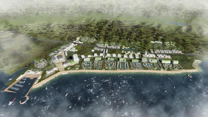 ВоВьетнаме строят огромный туристический кластер