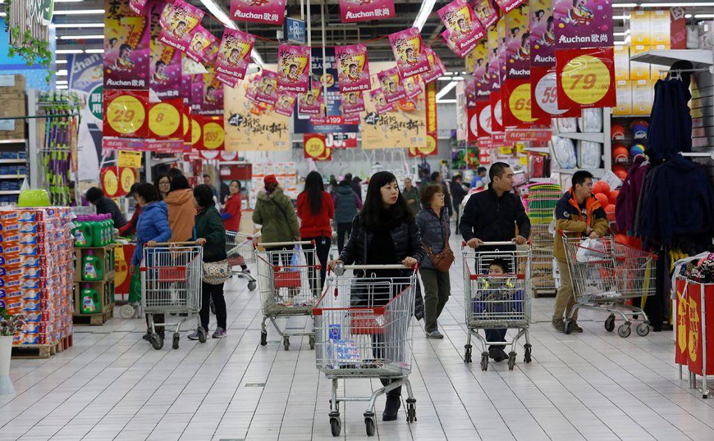 Alibaba покупает за $2,9 млрд 36% китайской сети гипермаркетов
