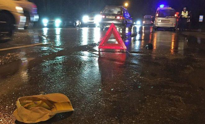 За один вечер в Калуге под колёса авто попали три пешехода
